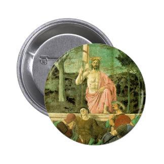 Resurrection Jesus Button