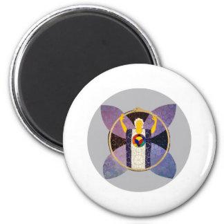 Resurrection 6 Cm Round Magnet