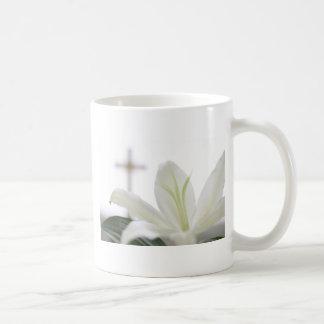 Resurrection morning basic white mug