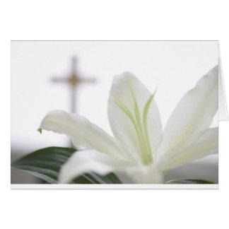 Resurrection morning greeting card