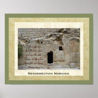 Resurrection Morning Poster