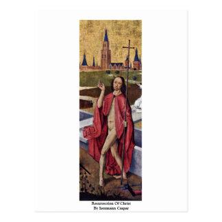 Resurrection Of Christ  By Isenmann Caspar Postcard