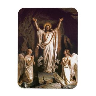 Resurrection of Christ. Fine Art Gift Magnet