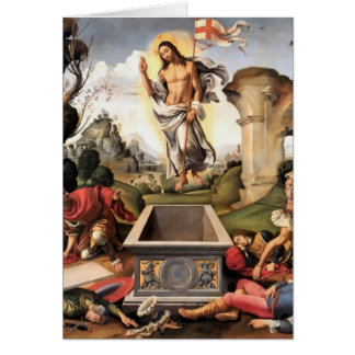 Resurrection of Christ Greeting Card