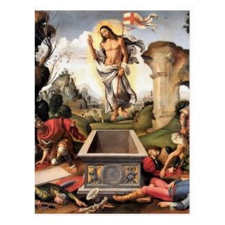 Resurrection of Christ Postcard