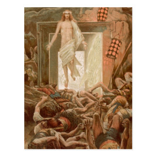 Resurrection of Jesus Christ, by James Tissot Postcard
