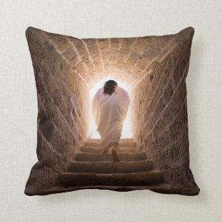 Resurrection of Jesus Christ Throw Pillows
