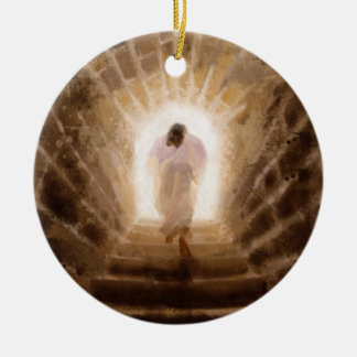 Resurrection of Jesus Christ Christmas Tree Ornaments