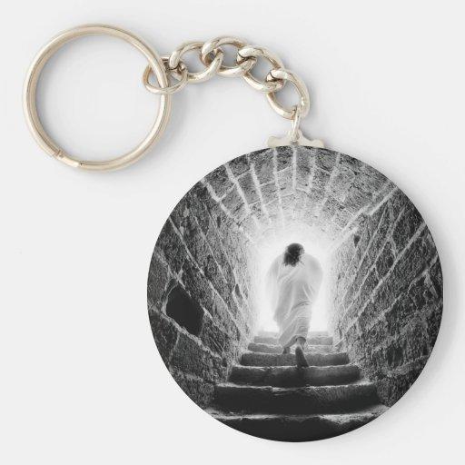 Resurrection of Jesus Christ keychains