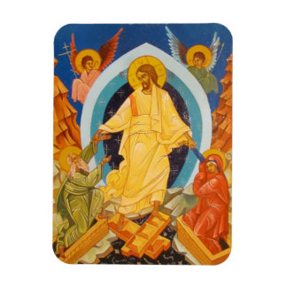 Resurrection orthodox  icon magnet