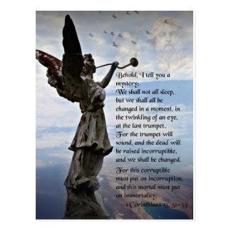 RESURRECTION POSTCARD