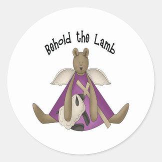 Resurrection Round Sticker