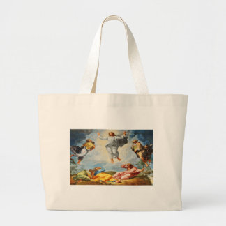 Resurrection scene in Vatican, Rome Large Tote Bag