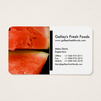 (Retail / Food / Grocer's) Business Cards (d)
