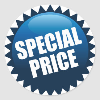 RETAIL LABEL - SPECIAL PRICE ROUND STICKER