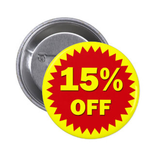 RETAIL SALE BADGE - 15% OFF