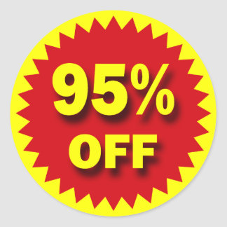 RETAIL SALE BADGE - 95 OFF STICKERS