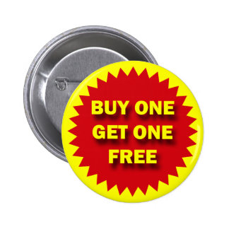 RETAIL SALE BADGE - BUY ONE GET ONE FREE