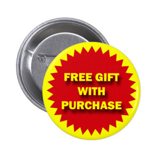 RETAIL SALE BADGE - FREE GIFT WITH PURCHASE