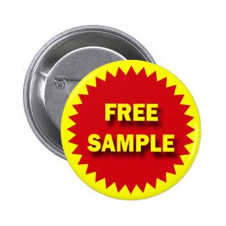 RETAIL SALE BADGE - FREE SAMPLE