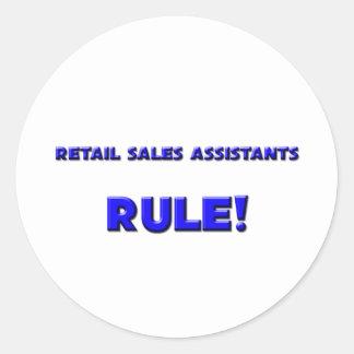 Retail Sales Assistants Rule! Sticker