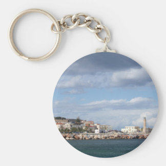 Rethymno Magnet Key Ring