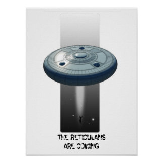 Reticulan Abductor Poster