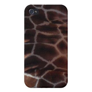 Reticulated Giraffe Pattern iPhone 4 Covers