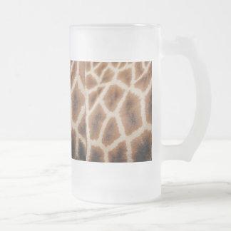 Reticulated Giraffe Pattern Wild Animal Print Gift Coffee Mug