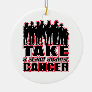Retinoblastoma -Take A Stand Against Cancer Christmas Ornaments