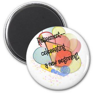retire3 6 cm round magnet