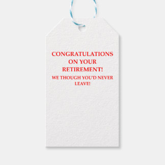 RETIRE GIFT TAGS