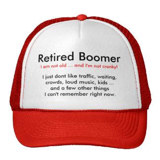 Retired Baby Boomer - Hat