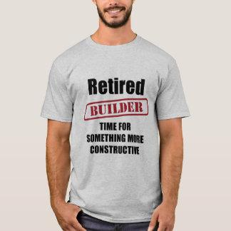 Retired Builder T-Shirt