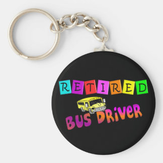 Retired Bus Driver Gifts Key Chains