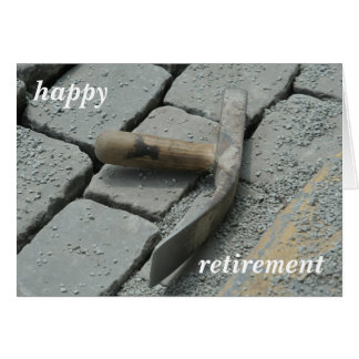 retired card