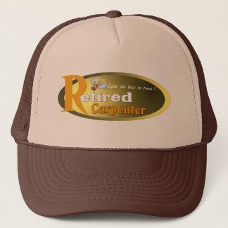 Retired  Carpenter. Trucker Hat