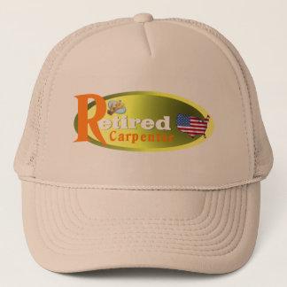 Retired Carpenter USA Trucker Hat