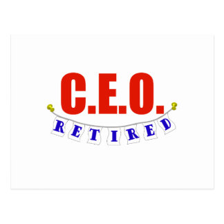 RETIRED CEO POSTCARDS