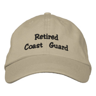 Retired Coast Guard Hat