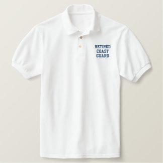 Retired Coast Guard Polo Shirts