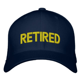 Retired Embroidered Hat