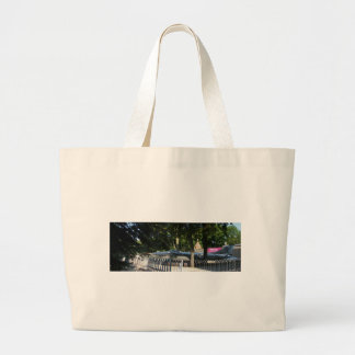 Retired fighter tote bags