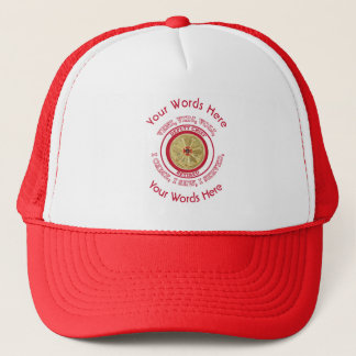 Retired Fire Deputy Chief VVV Shield Trucker Hat