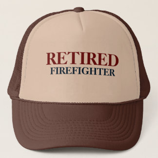 Retired Firefighter Cap