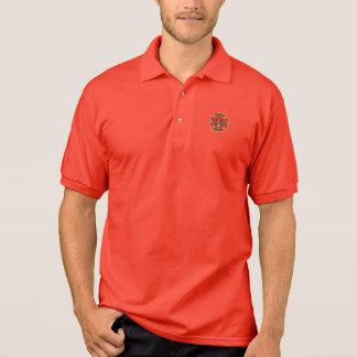 Retired Firefighter Maltese Cross Polo Shirt