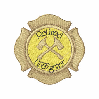 Retired Firefighter Polo Shirts