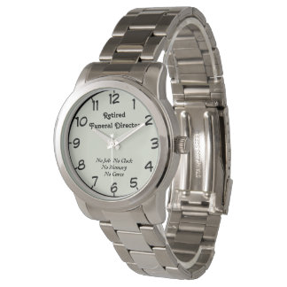 Retired Funeral Director Watch