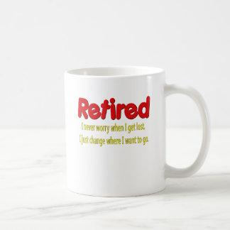 Retired Funny Saying Coffee Mug