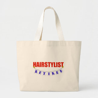 RETIRED HAIRSTYLIST CANVAS BAG
